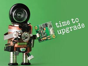 time to upgrade with robot