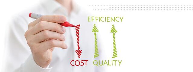 cost quality and efficiency in IT solutions