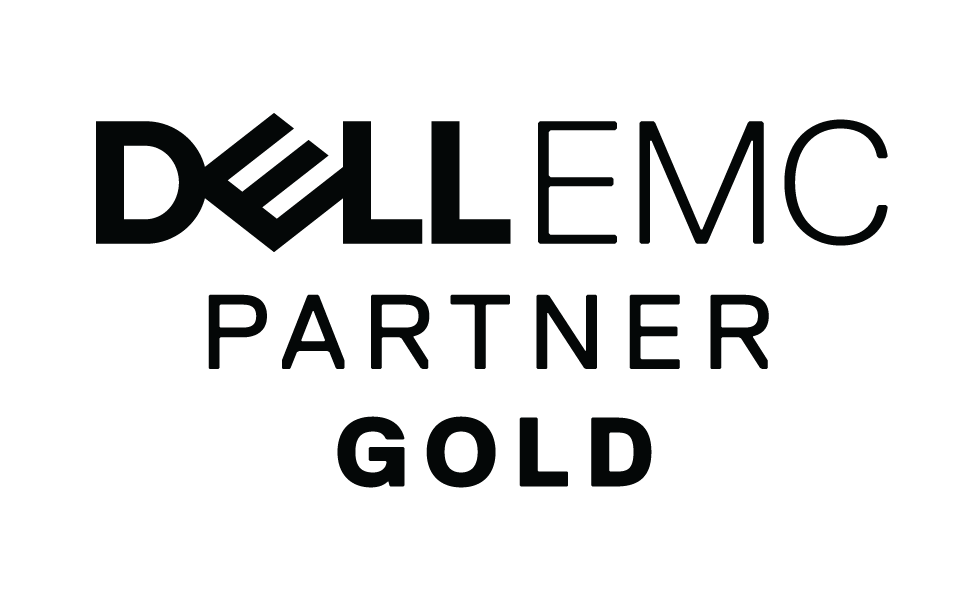 EMC gold partner logo