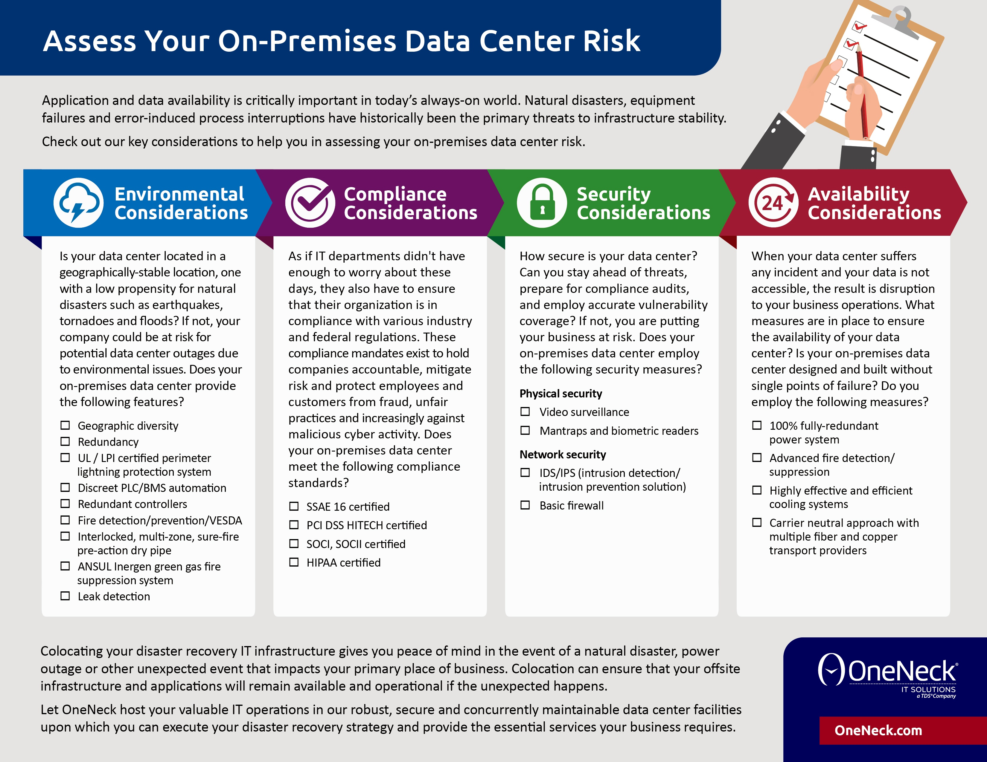 Assess Your Data Center Risk